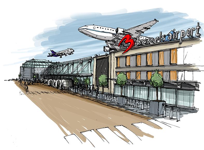 Aéroport de Bruxelles Zaventem